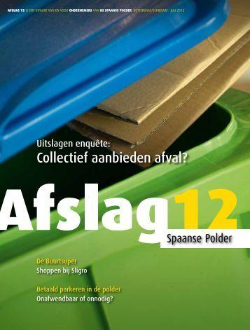 Afslag 12, nummer 4 2012 - Spaanse Polder 2015