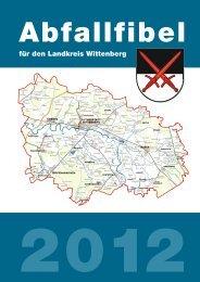 Abfallfibel 2012 - Landkreis Wittenberg