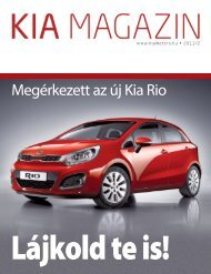 Letöltés KIA Magazin 2011. második szám - Kia Motors America