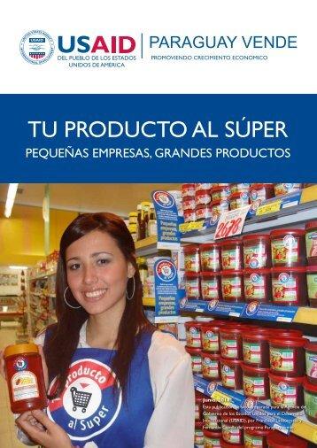 TU PRODUCTO AL SÚPER - USAID / Paraguay