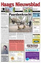 Haags Nieuwsblad 2013-02-27.pdf 7MB - Archief kranten - Buijze Pers