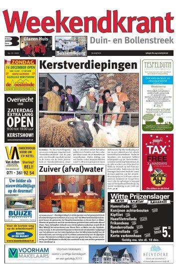 Weekendkrant 2012-12-14.pdf 15MB - Archief kranten - Buijze Pers