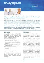System Monitorowania Programów Profilaktycznych (SIMP) w NFZ