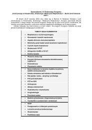 """Sprawozdanie z IV Światowego Kongresu """"Kontrowersje w ..."""