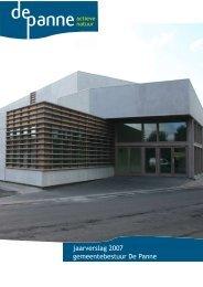 jaarverslag 2007 gemeentebestuur De Panne