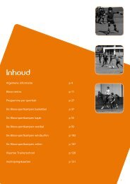 Download de brochure Sportkampen 2013 in pdf - Bloso
