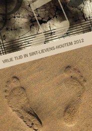 VRIJE TIJD IN SINT-LIEVENS-HOUTEM 2012