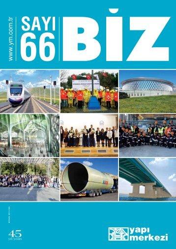 Biz Dergisi Sayı 66 - Yapı Merkezi