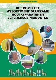 Het complete assortiment houtreparatie - Repair Care