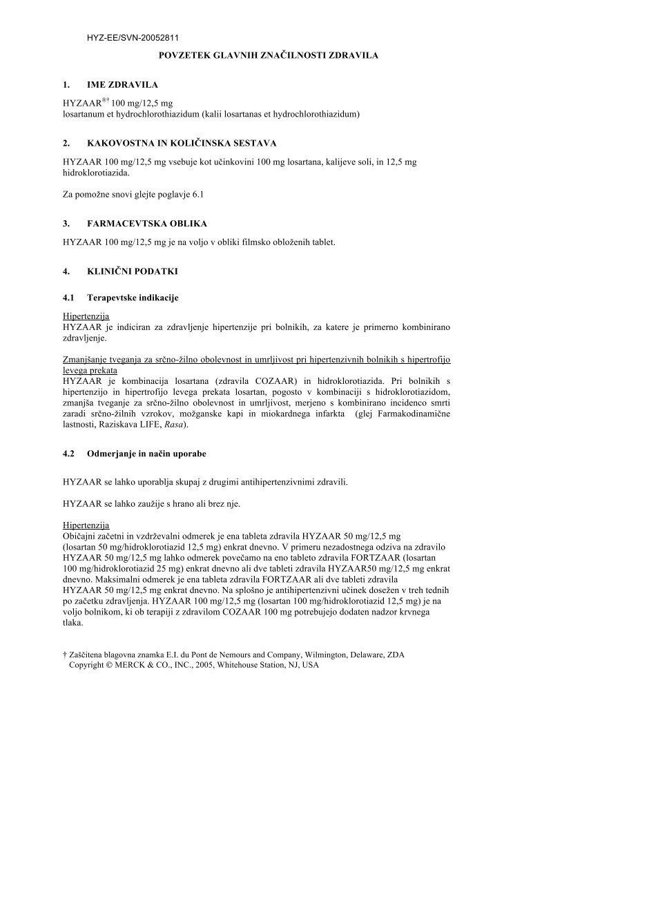 hipertenzija losartanas
