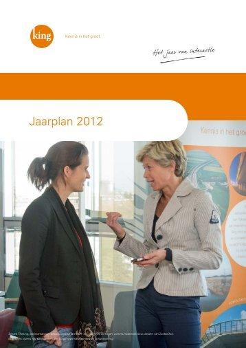 Jaarplan 2012 - Kennis in het groot