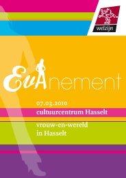cultuurcentrum Hasselt vrouw-en-wereld in Hasselt - Femma