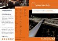 Transporte per Bahn