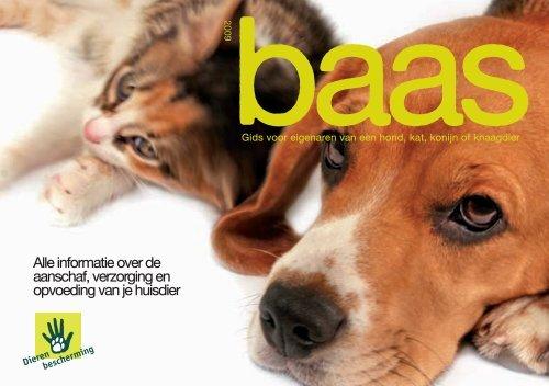 Baas : gids voor eigenaren van een hond, kat, konijn ... - Ikzoekbaas.nl