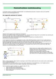Meetmethodieken isolatiebewaking - Bender Benelux BV