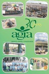 Agra oor die jare