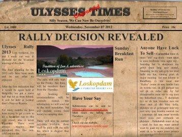 Ulysses Times - Ulysses SA