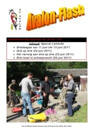 Avalon Flash nr 27 - Speleoclub Avalon
