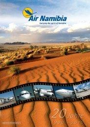 EIN PRODUKT DER FREHNER CONSULTING - Air Namibia