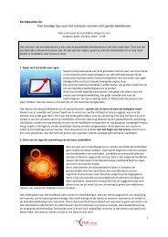 Tien handige tips voor het schrijven van een echt ... - TNR Advies