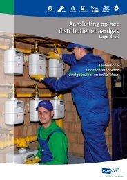 Aansluiting op het distributienet aardgas - Eandis