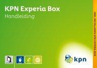 KPN Experia Box - Handleidingen en software