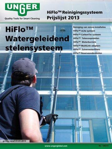 HiFlo™ Watergeleidend stelensysteem - Unger