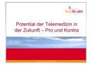 Potential der Telemedizin in der Zukunft – Pro und Kontra
