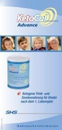 Ketogene Trink- und Sondennahrung für Kinder nach dem 1 ...