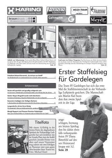 Erster Staffelsieg für Gardelegen - Landesschützenverband ...
