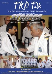 TKD Talk 11-02 - International Taekwon-do Federation of New ...