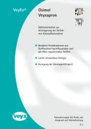 VeyFo® Osimol Veyxapron - Veyx-Pharma GmbH