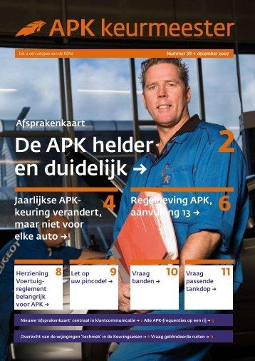De APK helder en duidelijk → - Rustbuster