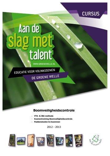 APK – keuring bomen / VTA – techniek - De Groene Welle