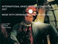 Kein Folientitel - International Mines Rescue Body