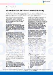 Informatie over de paramedische dienst - voor web - Kempenhaeghe