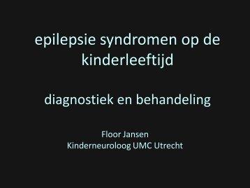 epilepsie syndromen diagnostiek en behandeling