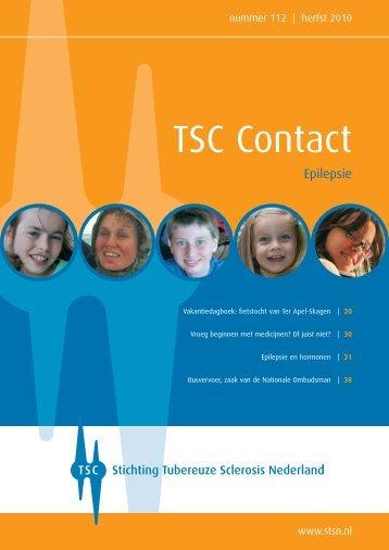 Herfst 2010 - Stichting Tubereuze Sclerosis Nederland
