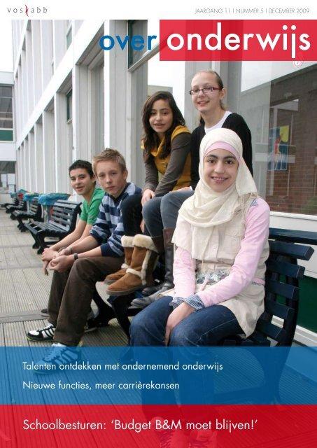 Schoolbesturen: 'Budget B&M moet blijven!' - Elevate Consulting ...