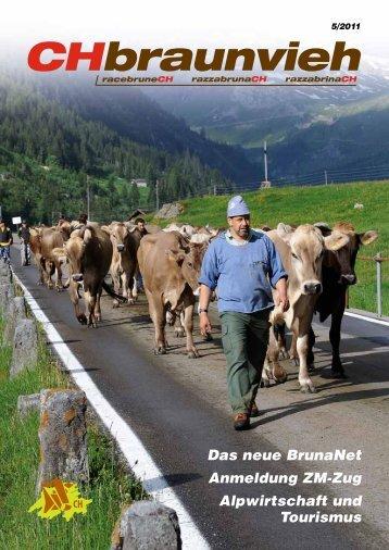 CHbraunvieh 05-2011 - Schweizer Braunviehzuchtverband