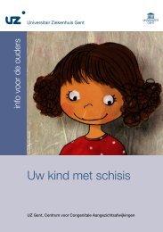 Uw kind met schisis - UZ Gent