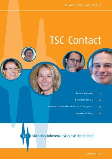 Winter 2011 - Stichting Tubereuze Sclerosis Nederland