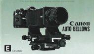 Canon Auto Bellows instruction manual (PDF 6571360 bytes)
