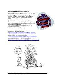 Lessuggesties energie - groep 7-8 [605.16 KB] - Natuur & Zo