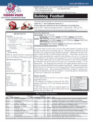 Game Notes - Community - CBS Sports Network