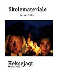 Skolemateriale Heksejagt - Odense Teater