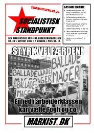 Hent pdf her - Socialistisk Standpunkt