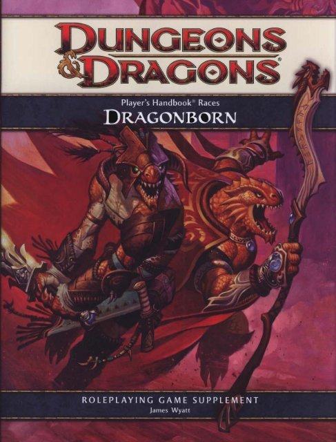 Player's Handbook Races - Dragonborn pdf - Free