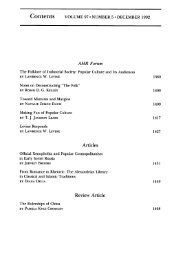 Table of Contents (PDF) - The American Historical Review
