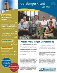 Lokale burgerkrant 2006-4 - Open VLD Mol